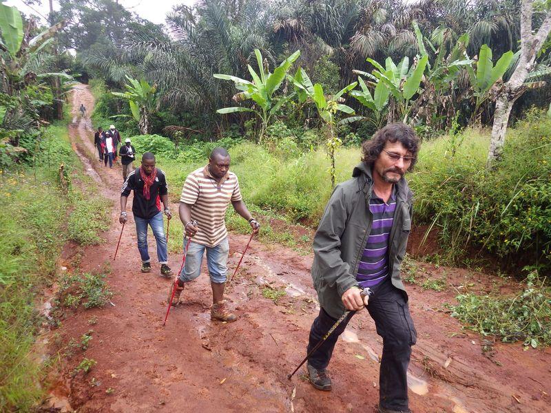 Sur les pistes camerounaises